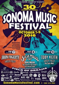 Support foster children by volunteering at the Sonoma Music Festival.