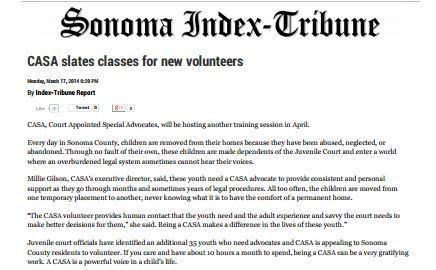 Sonoma Index Tribune