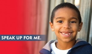 Speak up for a foster child